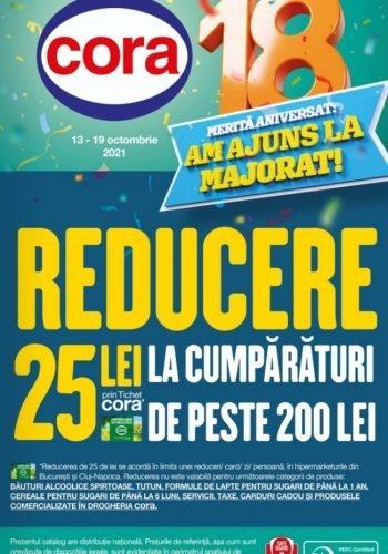 Catalog cora Bucuresti, Cluj 13 octombrie - 19 octombrie 2021