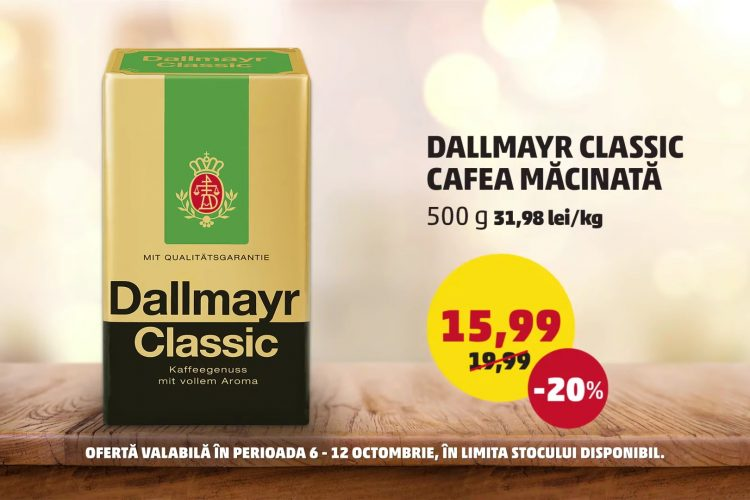 Oferta Penny - Dallmayr Classic si Banane - 6 octombrie - 12 octombrie 2021