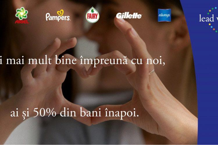 P&G - Faci mai mult bine impreuna cu noi, ai si 50% din bani inapoi!