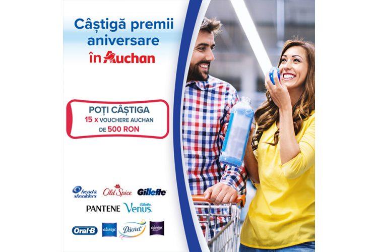 Auchan - Castiga premii aniversare in Auchan