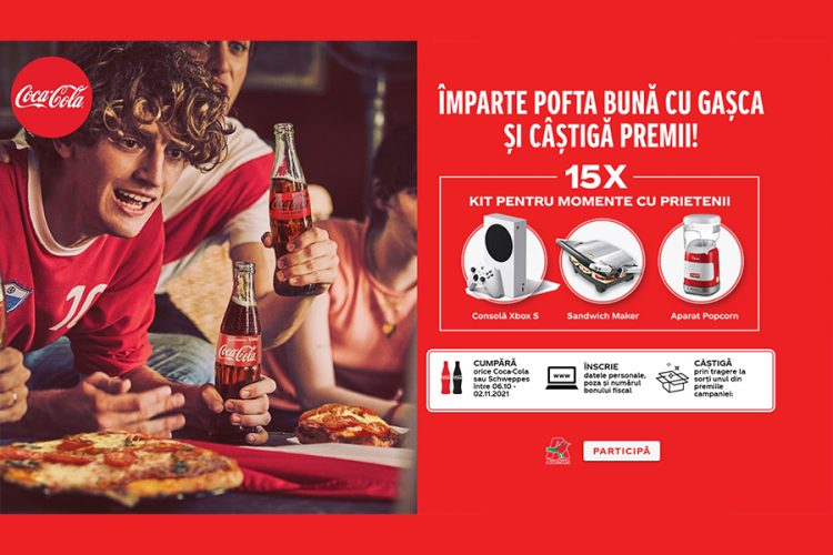 Auchan - Cokescan Coca Cola - Imparte pofta buna cu gasca si castiga premii