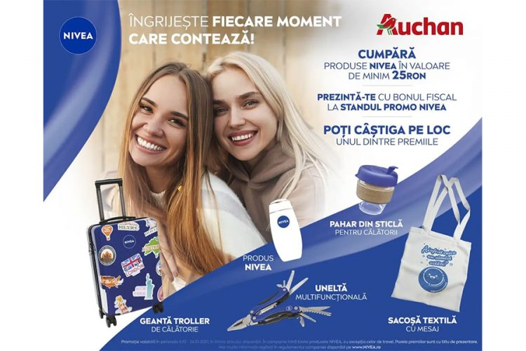 Auchan - NIVEA - Auchan Aniversar 15 ani