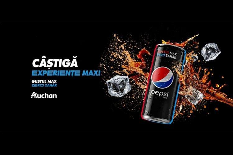 Auchan - Pepsi Max - Castiga experiente MAX