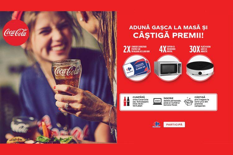 Carrefour - Cokescan Coca Cola - Aduna gasca la masa si castiga premii!