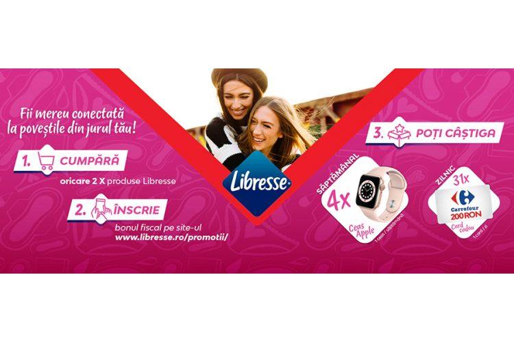 Carrefour - Fii mereu conectat la povestile din jurul tau! Castiga un ceas Apple Watch sau un card cadou Carrefour!