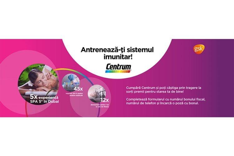 Centrum - Antreneaza-ti sistemul imunitar! Castiga o experienta SPA in Dubai!