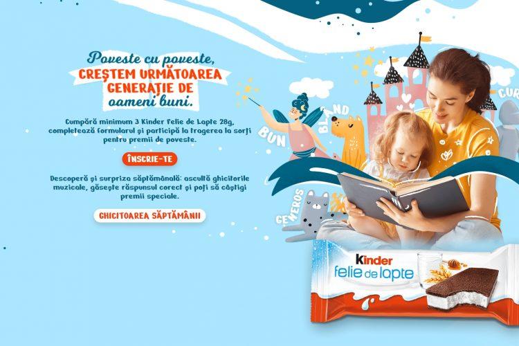 Kinder - Poveste cu poveste, crestem urmatoarea generatie de oameni buni
