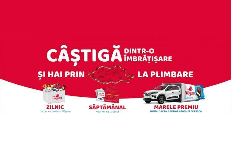 Magura - Castiga dintr-o imbratisare si hai prin tara la plimbare! Castiga o masina Dacia Spring!
